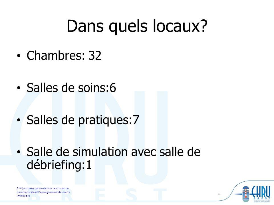 1 eres journées nationales sur la simulation paramédicale et lenseignement des soins infirmiers 5 Evaluation et pratique simulée dans les IFSI.
