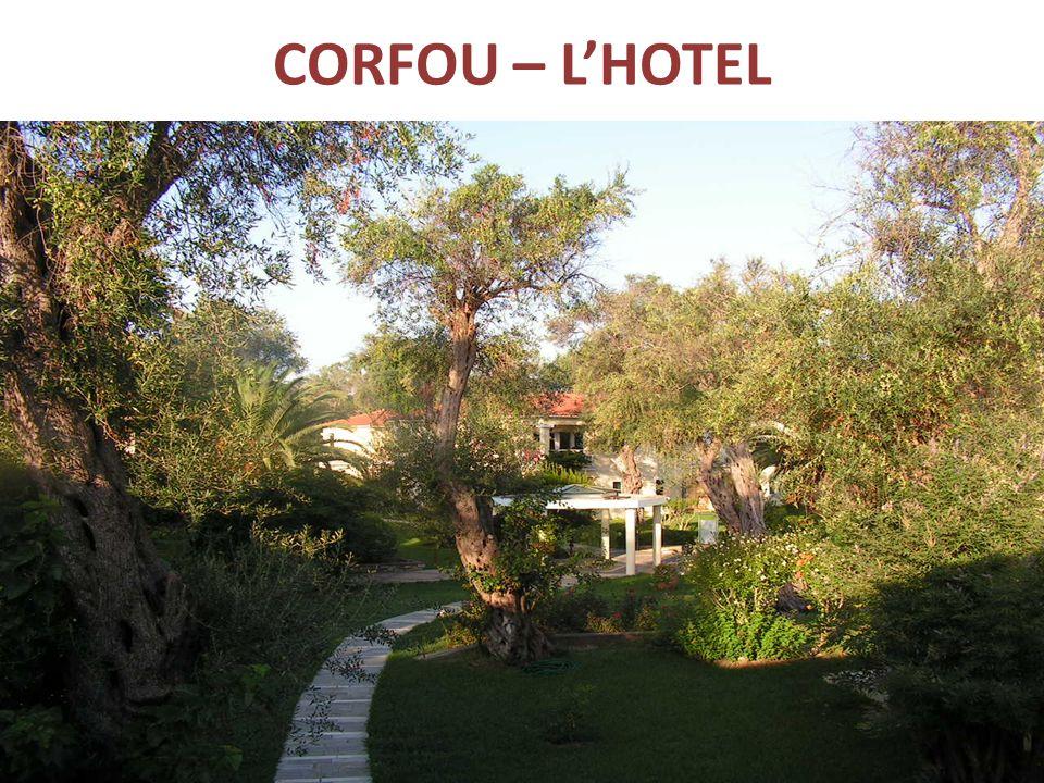 CORFOU – LHOTEL