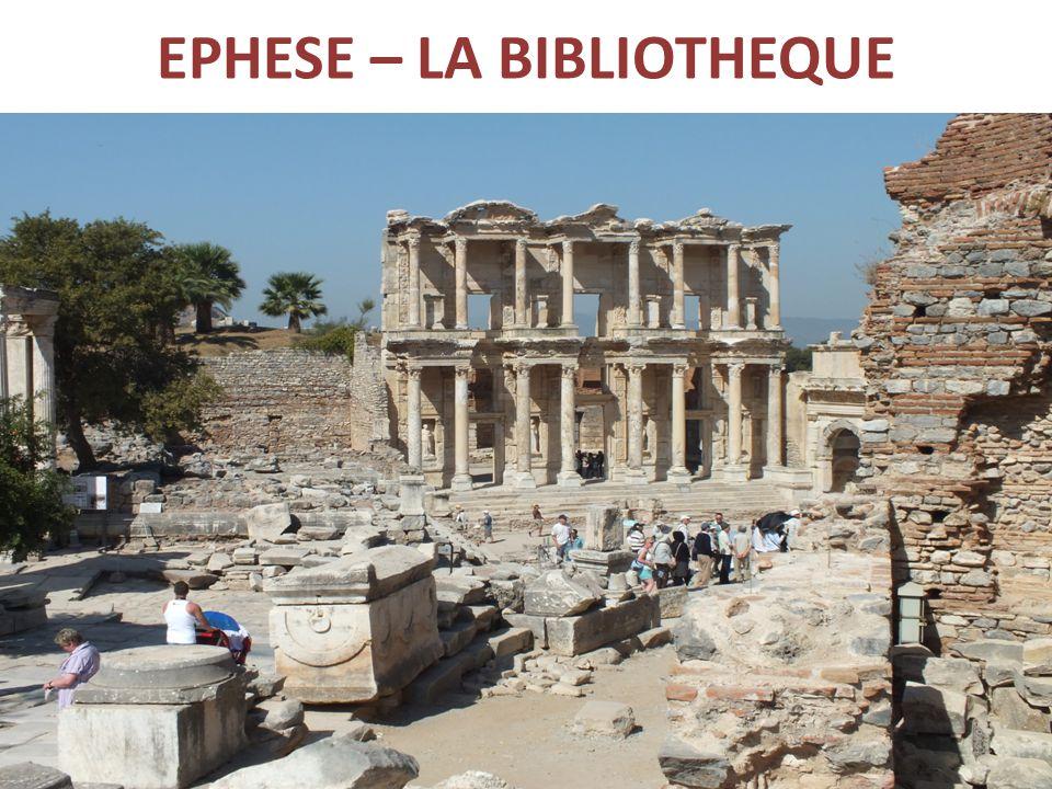 EPHESE – LA BIBLIOTHEQUE