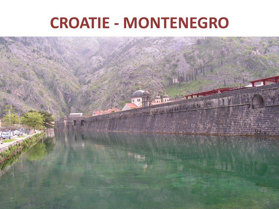 CROATIE - MONTENEGRO