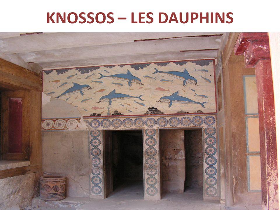 KNOSSOS – LES DAUPHINS