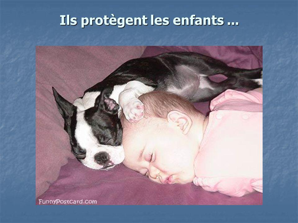 Ils protègent les enfants...