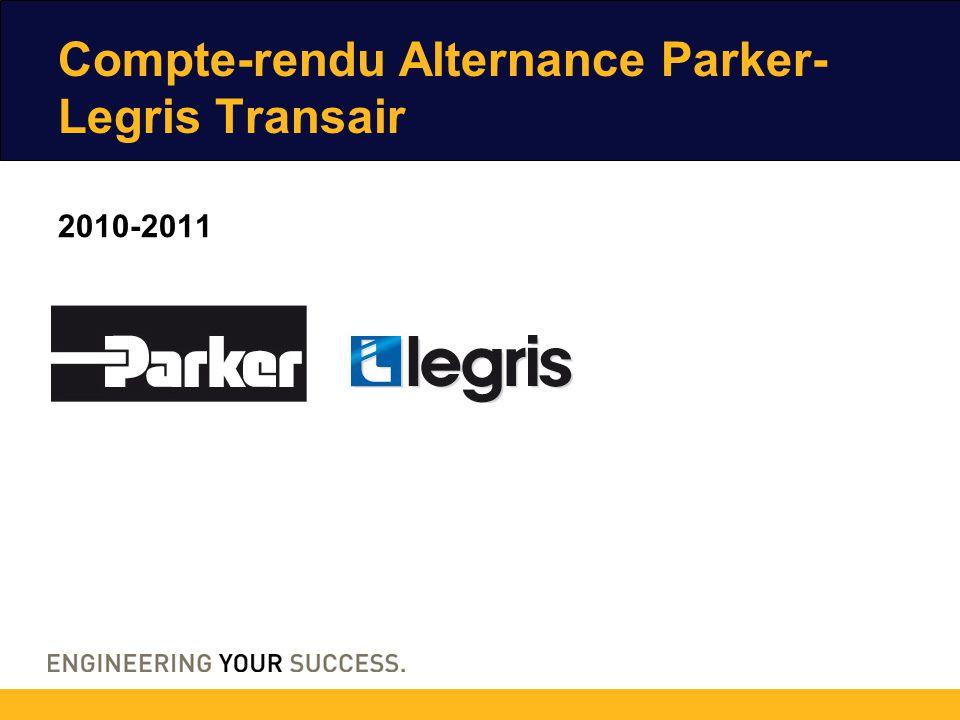 2010-2011 Compte-rendu Alternance Parker- Legris Transair