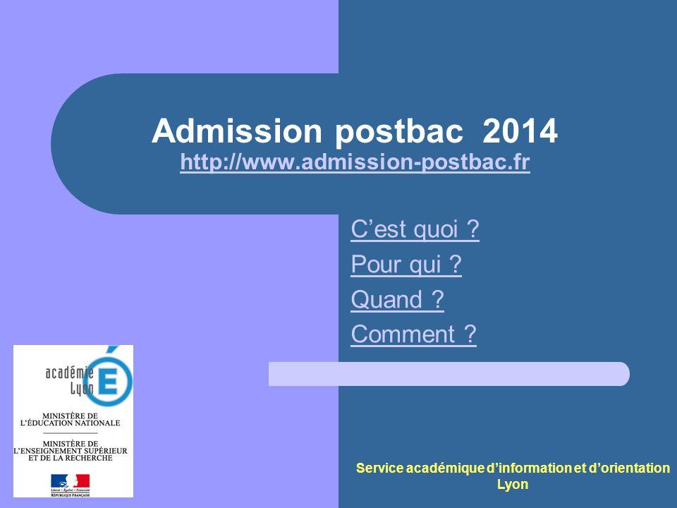 Service académique dinformation et dorientation - Lyon