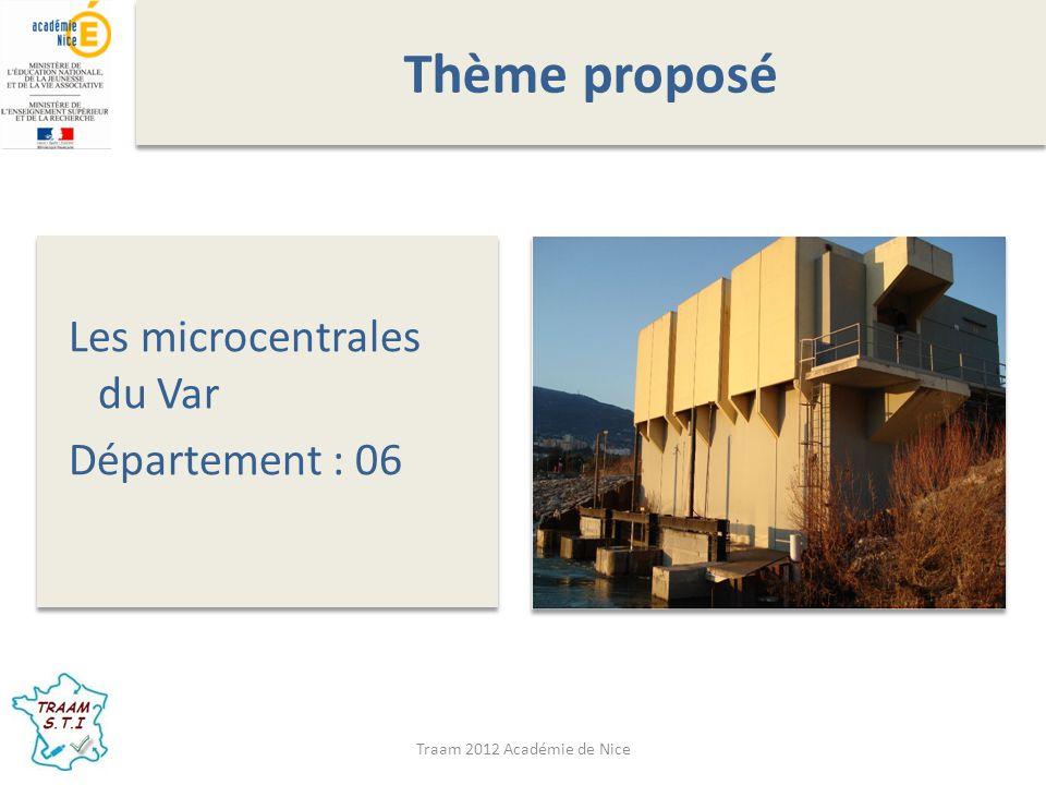 Traam 2012 Académie de Nice Intentions pédagogiques M.E.I.