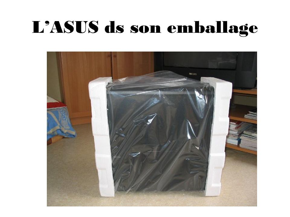 LASUS ds son emballage