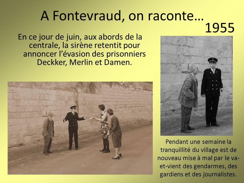 A Fontevraud, on raconte… Marthe et Jeanne, fidèles paroissiennes, se retrouvent devant léglise Saint-Michel.