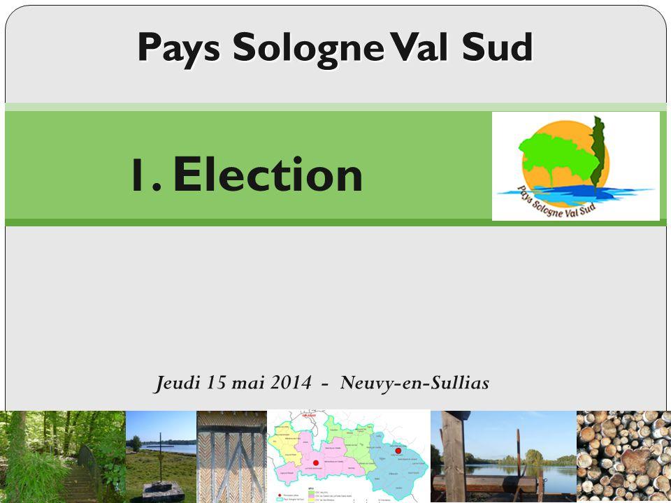Election du secrétaire Déclaration des candidats Les votants sont appelés nominativement Dépouillement Résultat : 1.