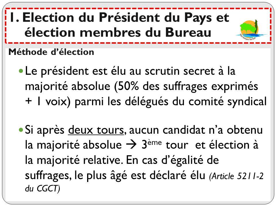 Les votants : 66 votants Délégués des communes (29) et ComCom (4) Quorum : 34 personnes Pouvoir : UN maximum par pers.