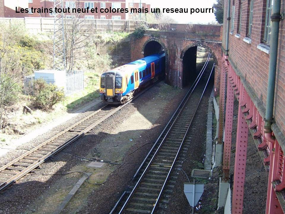 Les trains tout neuf et colores mais un reseau pourri