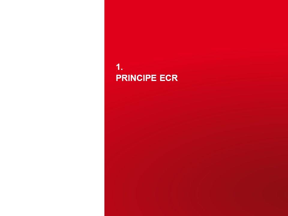 1. PRINCIPE ECR 3