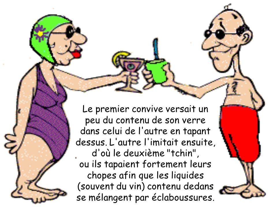 MG Production Ça remonte au Moyen Age, pour prouver que les verres ne contenaient pas de poison.