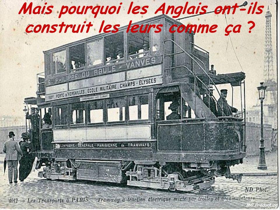 MG Production Parce que les chemins de fer US ont été construits de la même façon qu'en Angleterre, par des ingénieurs anglais expatriés, qui ont pens