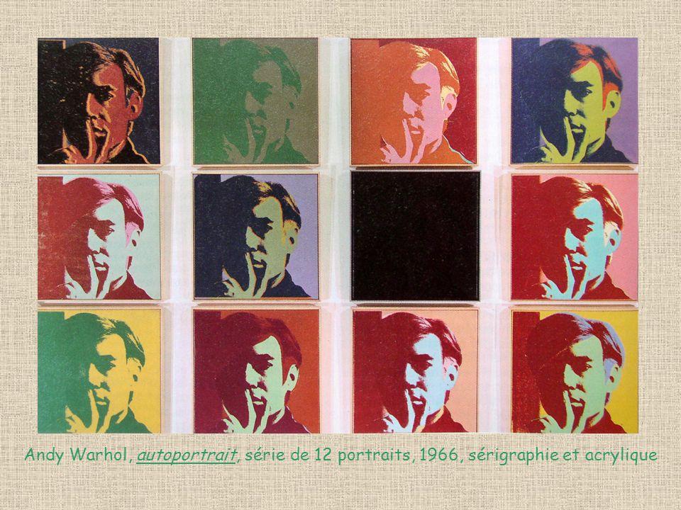 Daniel Buren, Peintures aux formes variables, 1966, 151/136cm, peinture sur toile de coton tissé à rayures blanches et rouges, alternées et verticales de 8.7cm d e large chacune.