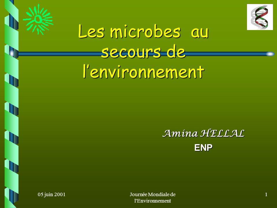05 juin 2001Journée Mondiale de l Environnement 21 Un exemple au Canada Un exemple au Canada Pile de sol contaminé Tuyau daération