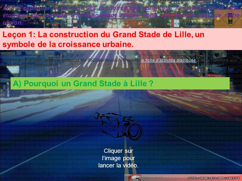 Le Stadium Nord de Villeneuve dAscq accueillait 22 000 spectateurs jusquen 2012, date douverture du Grand Stade.