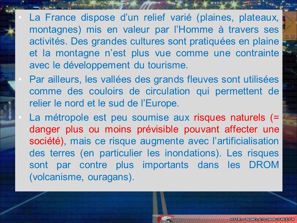 Leçon 3: La population française: répartition et dynamiques.