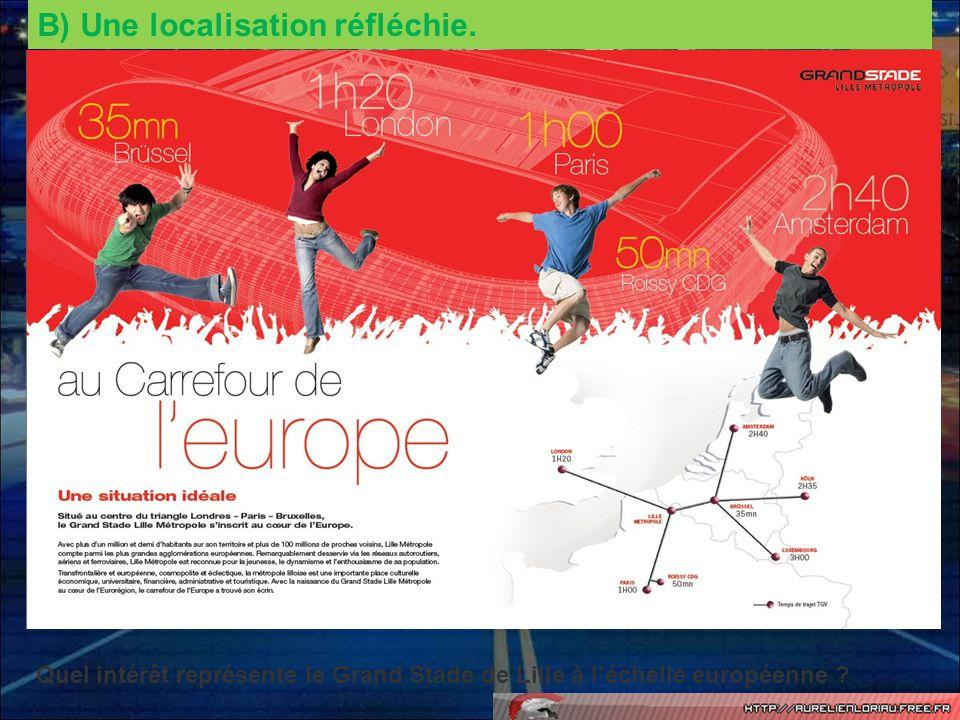 A léchelle nationale, où se trouve laire urbaine de Lille .