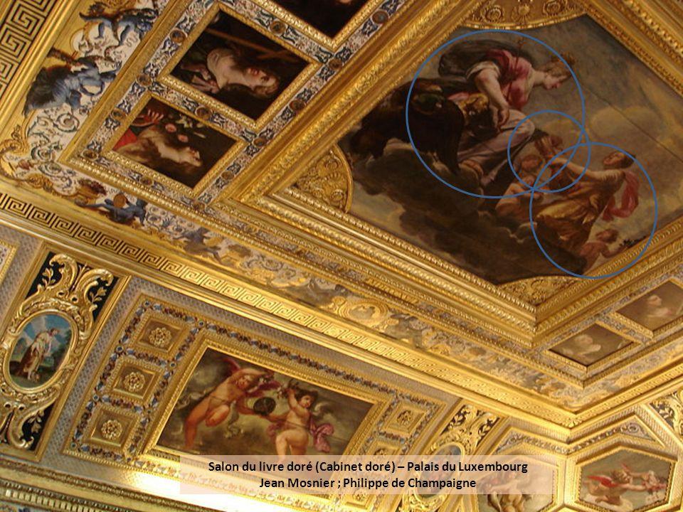 Salon du livre doré (Cabinet doré) – Palais du Luxembourg Jean Mosnier ; Philippe de Champaigne