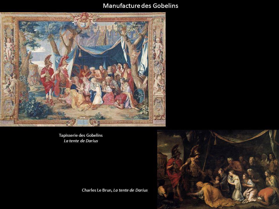 Manufacture des Gobelins Tapisserie des Gobelins La tente de Darius Charles Le Brun, La tente de Darius