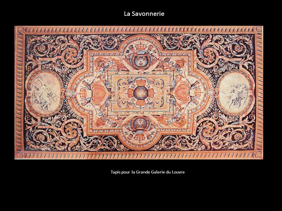 La Savonnerie Tapis pour la Grande Galerie du Louvre
