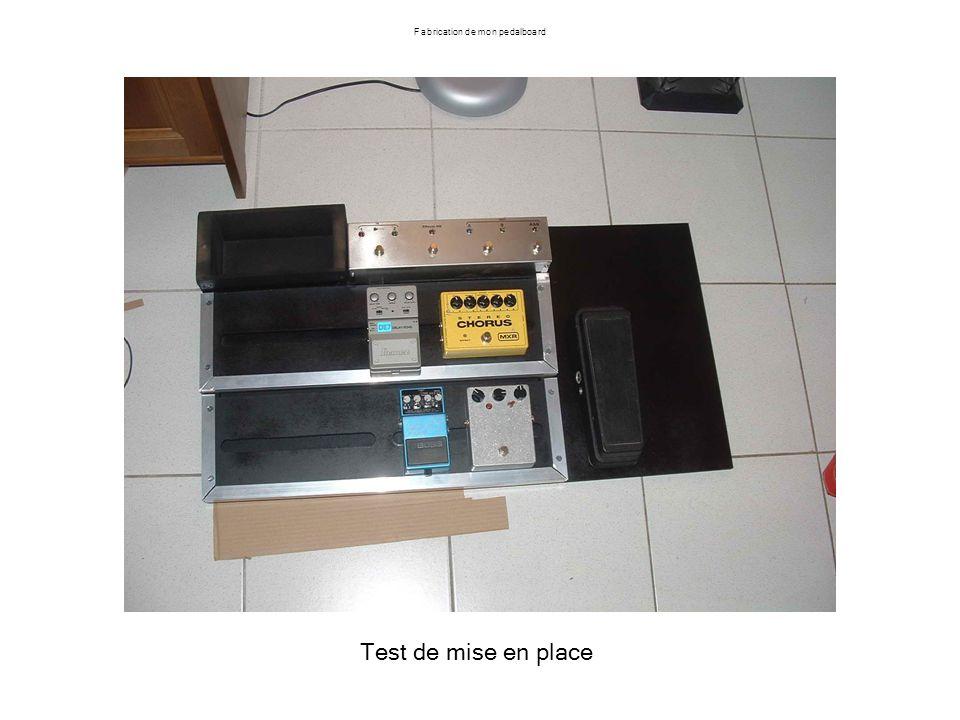 Test de mise en place