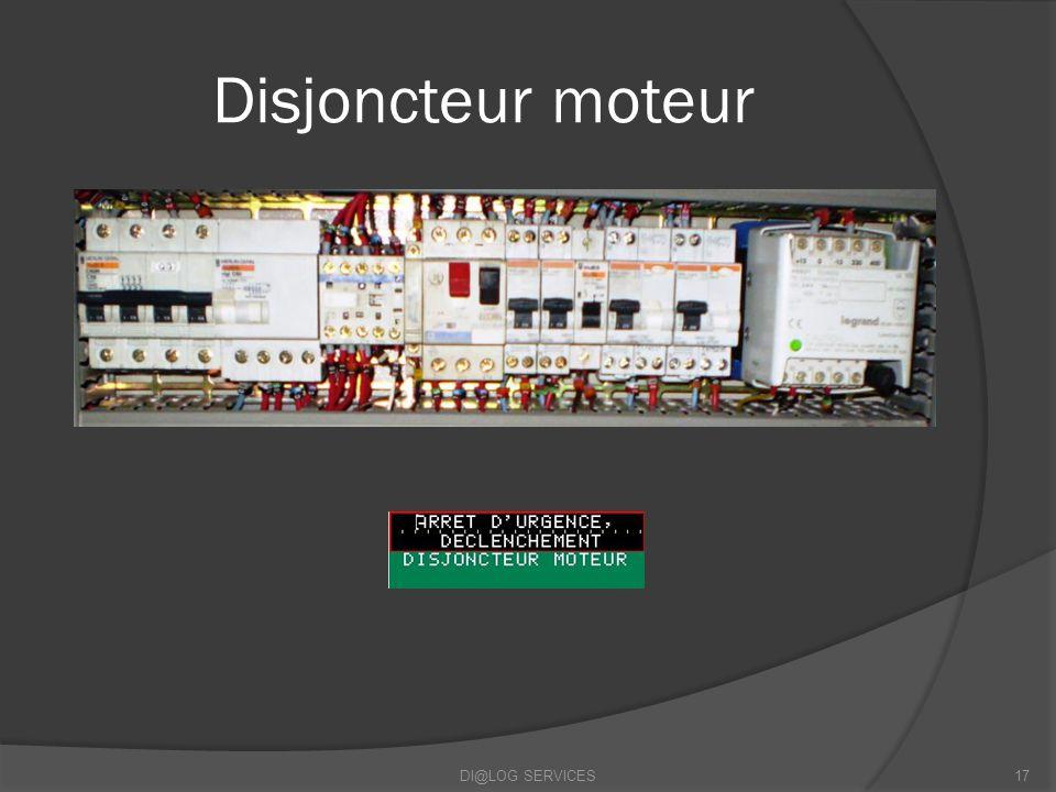 Disjoncteur moteur DI@LOG SERVICES17