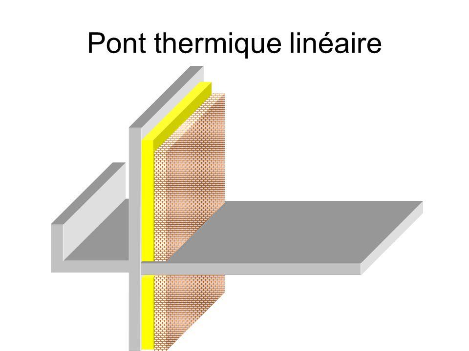 Exemple de détail Interruption de la couche isolante