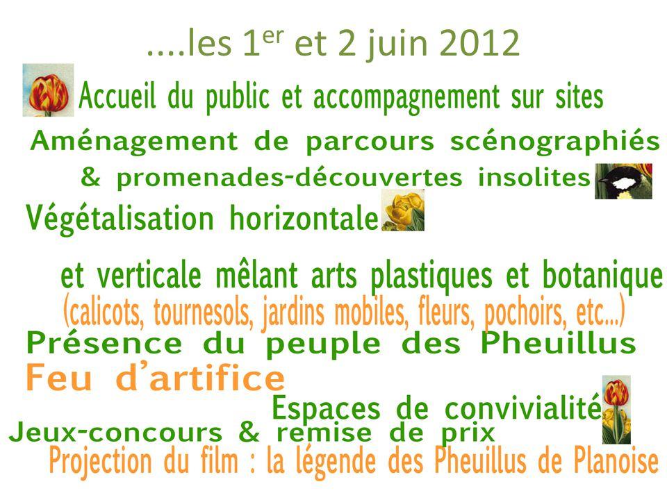 ....les 1 er et 2 juin 2012