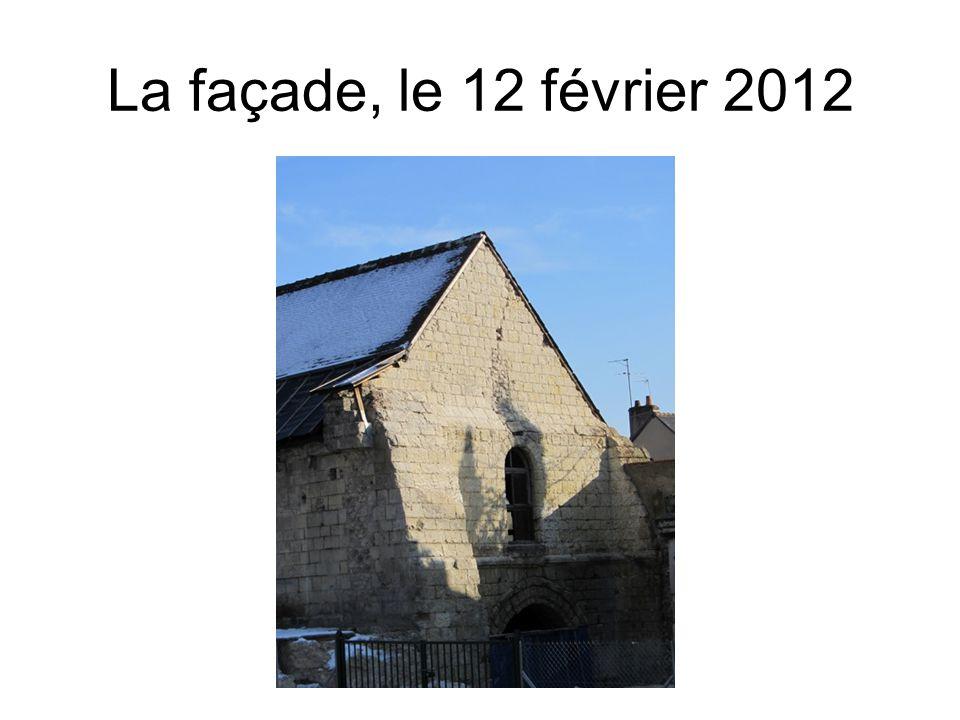 La façade, le 12 février 2012