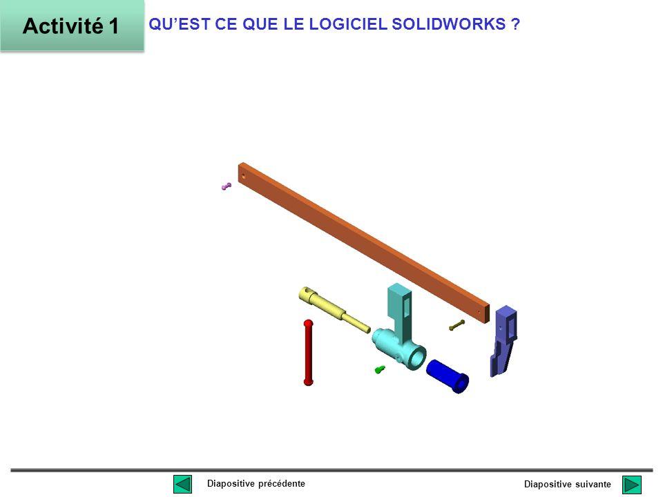 Assemblage fini des objets créés en 3D QUEST CE QUE LE LOGICIEL SOLIDWORKS .