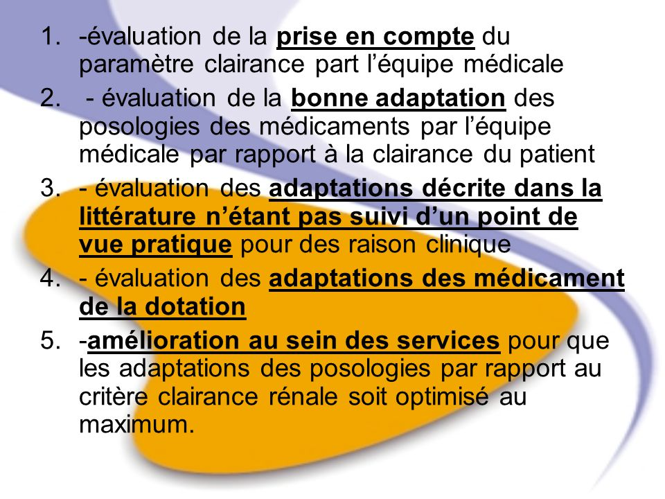 tableau n°2 : Etat de la fonction r é naleNombre de patients Normale IR Mod é r é e IR s é v è re IR terminale IR aigue Total dans ce tableau nous recueillons les proportions des pathologies de linsuffisance rénale