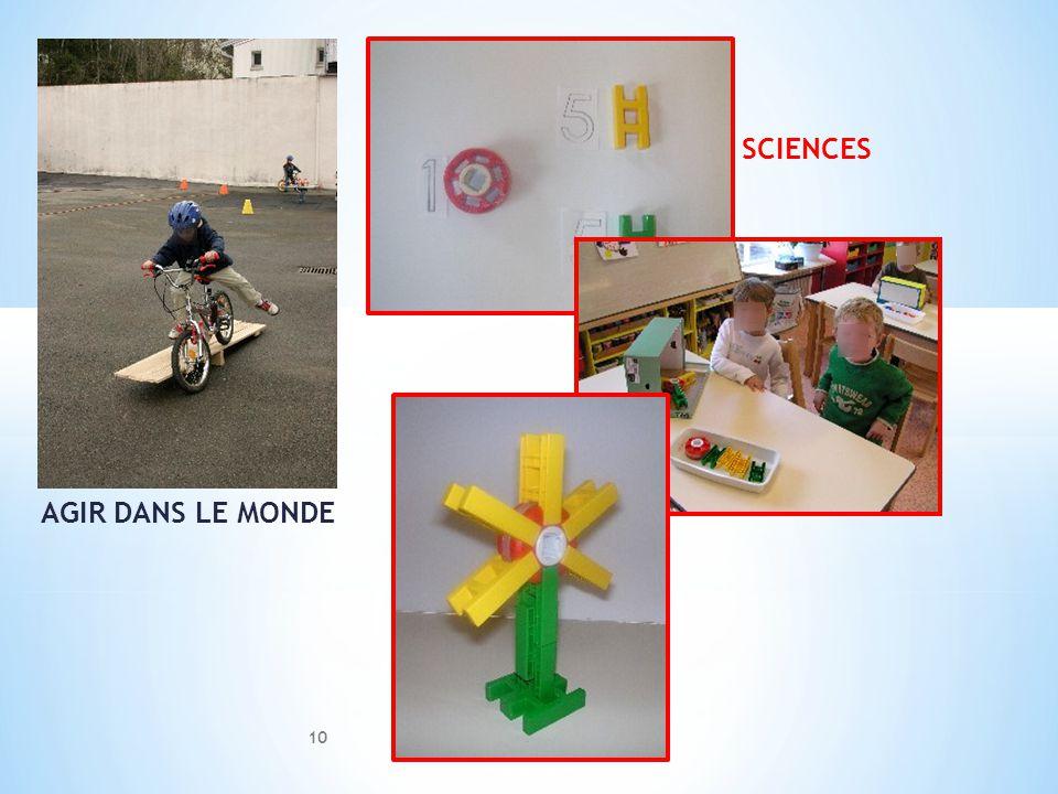 AGIR DANS LE MONDE SCIENCES 10