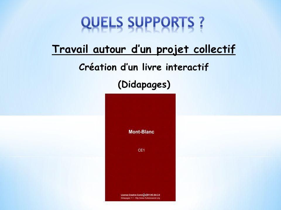 Travail autour dun projet collectif Création dun livre interactif (Didapages) 31