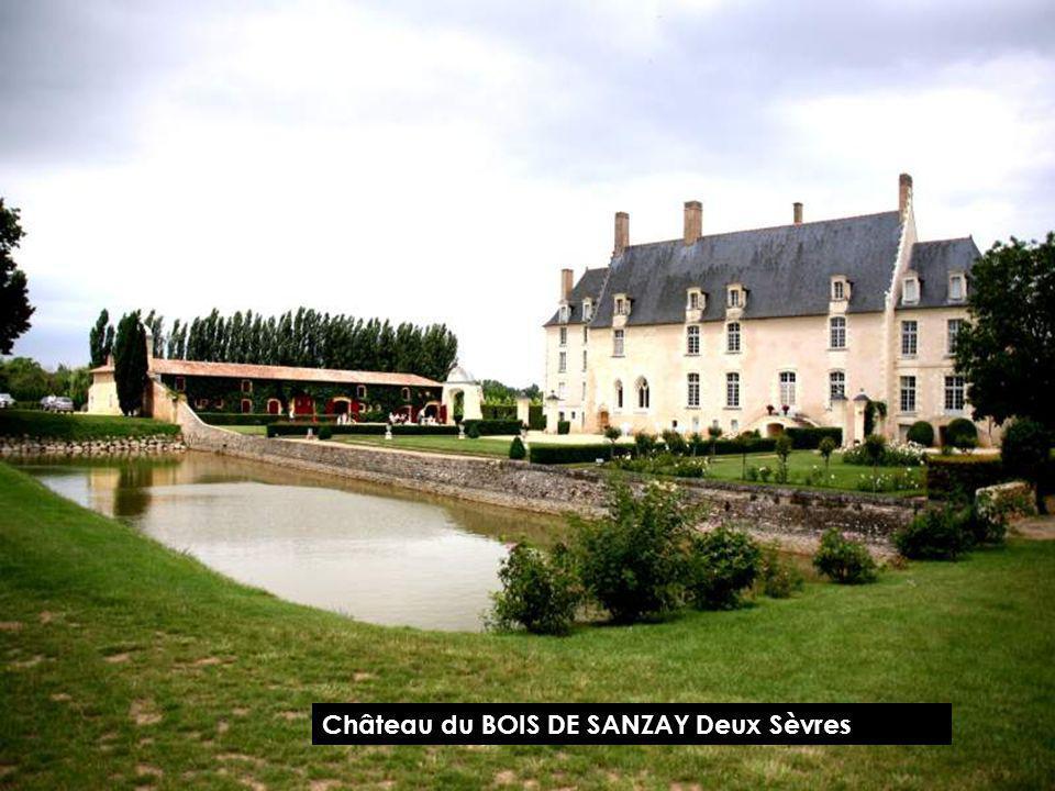 Château des RIOUX Charente Maritime