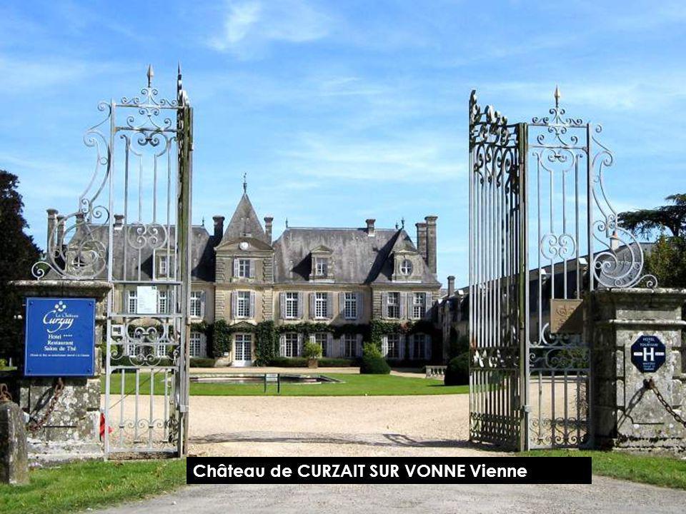 Château de BOURG ARCHAMBAULT Vienne