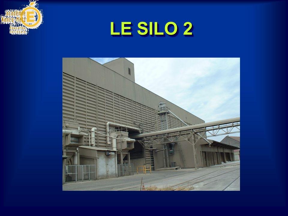 Capacité de stockage : 20 000 T, Nettoyage de 200 à 350 T/H.