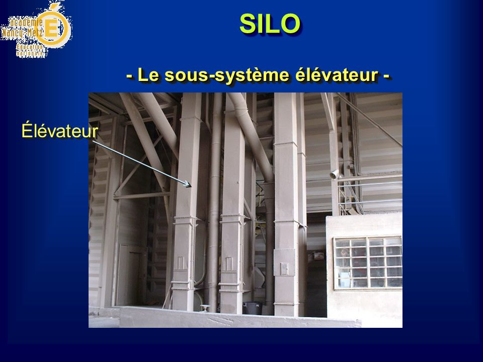 SILO 2 Moteur asynchrone triphasé de 37 kW, Capacité : 250 T/H.