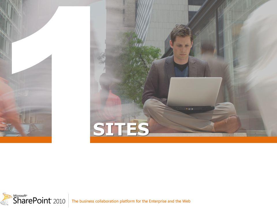 Excel Services : Nouveautés Visualisation et édition dans le navigateur – Collaboration temps réel – Fonctionne avec Firefox / Safari Best effort sur lintégration de documents avec des fonctionnalités non supportées Exposition de contenu via REST Intégration de nouveautés Excel 2010 – Slicers – Sparklines