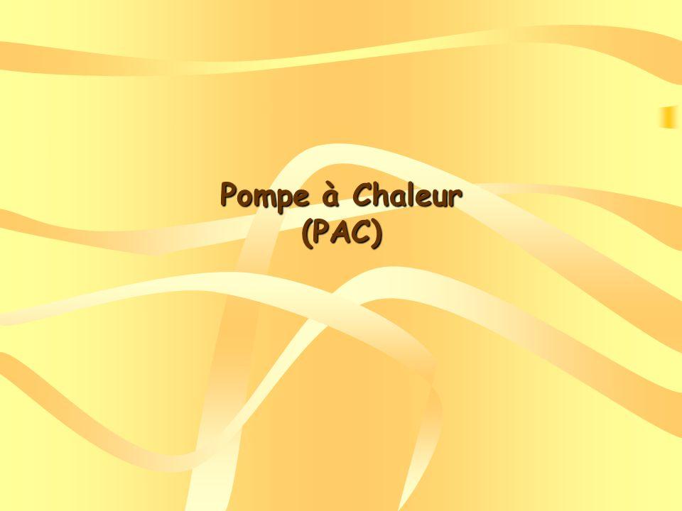 Dans une « Pompe à chaleur », la zone utile est une enceinte chaude (maison) qui reçoit la chaleur de lextérieur où il fait plus froid La chaleur sécoule naturellement dun milieu chaud vers un milieu froid.