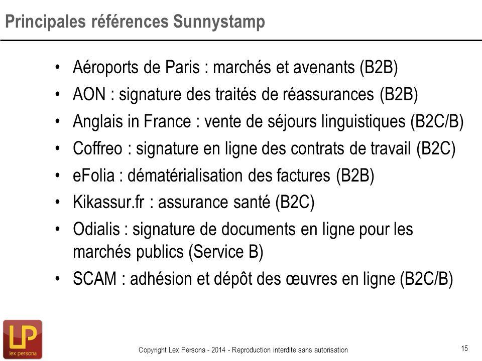 Aéroports de Paris : marchés et avenants (B2B) AON : signature des traités de réassurances (B2B) Anglais in France : vente de séjours linguistiques (B