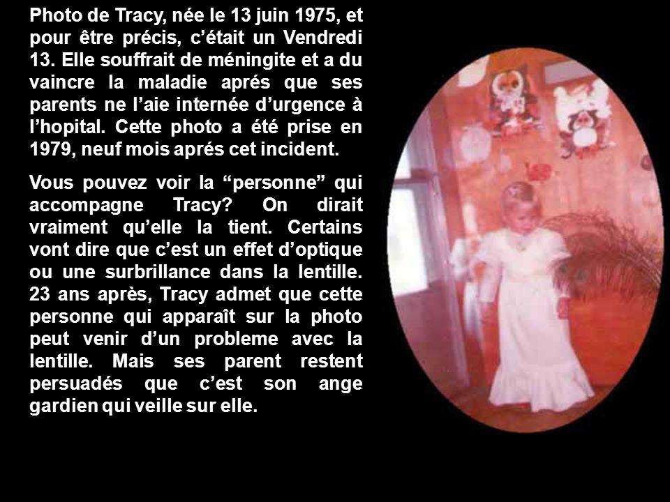 Photo de Tracy, née le 13 juin 1975, et pour être précis, cétait un Vendredi 13.