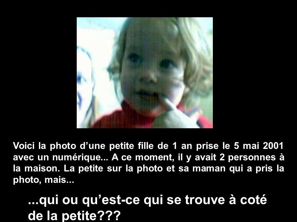 Voici la photo dune petite fille de 1 an prise le 5 mai 2001 avec un numérique...