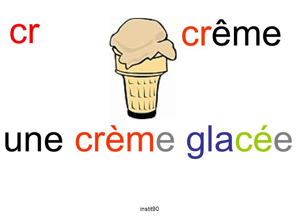 instit90 cr crême une crème glacée