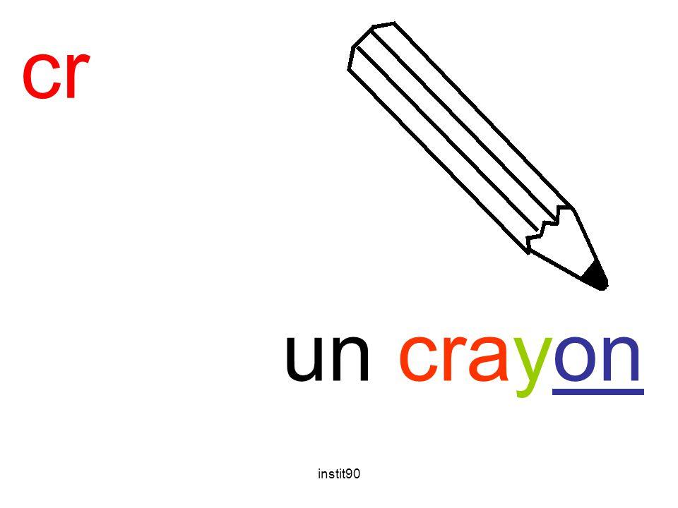instit90 cr crayon un crayon