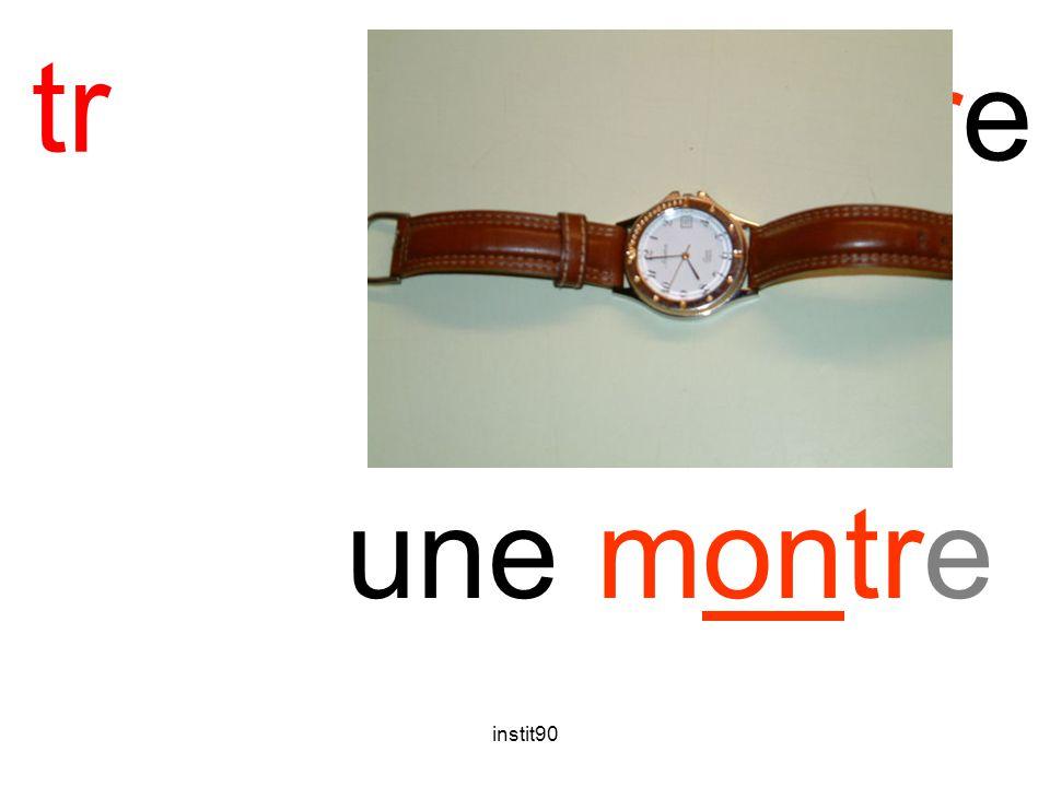 instit90 tr montre une montre
