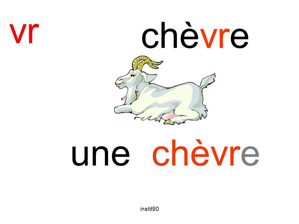 instit90 vr chèvre une chèvre
