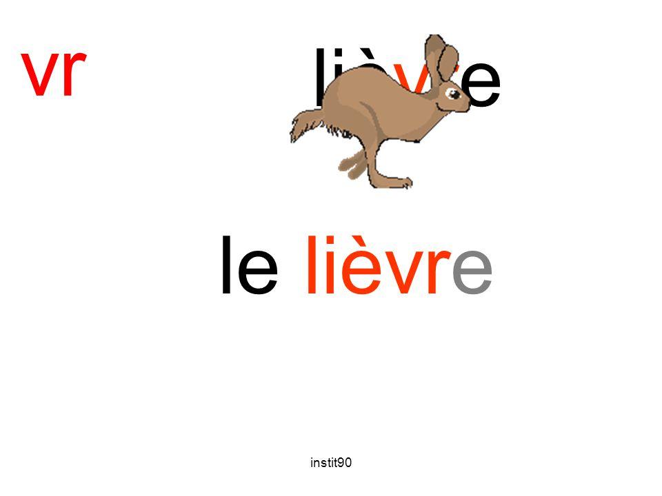 instit90 vr lièvre le lièvre