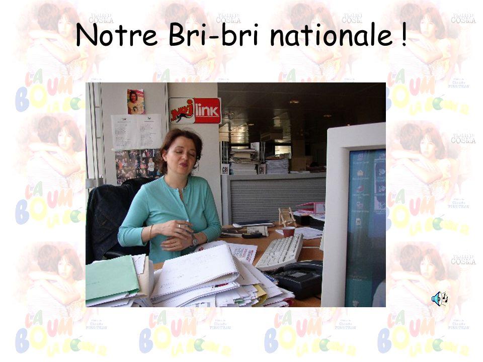 Notre Bri-bri nationale !