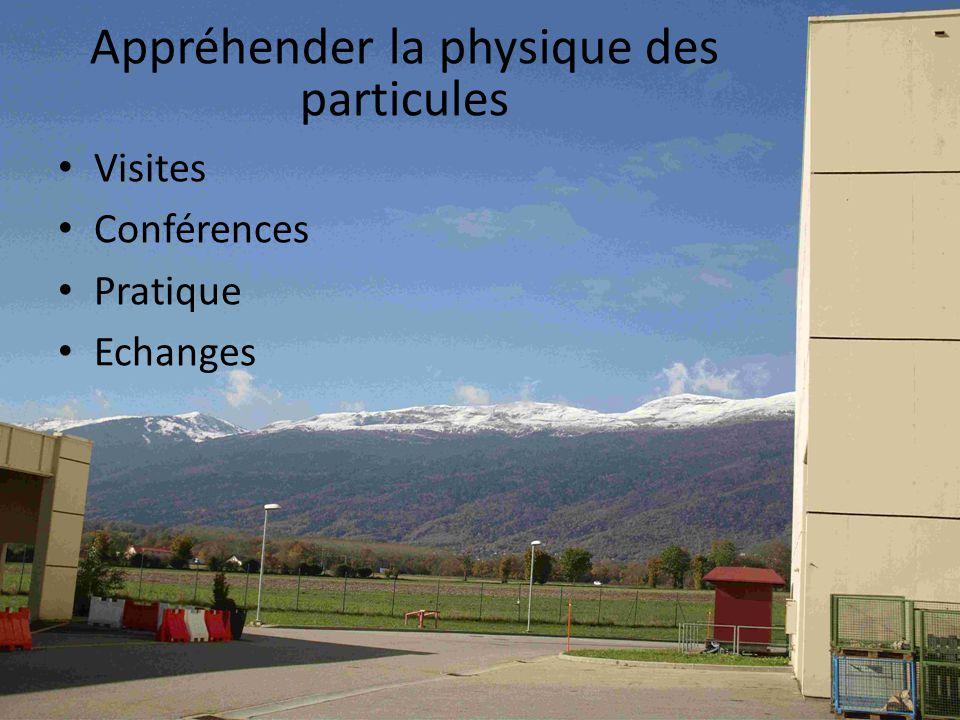 Appréhender la physique des particules Visites Conférences Pratique Echanges
